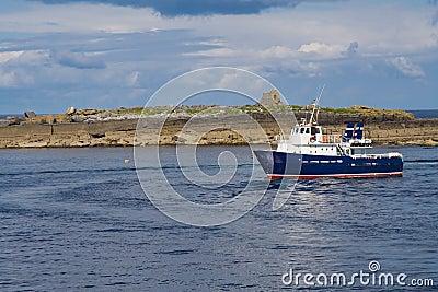 Passenger ferry at Doolin