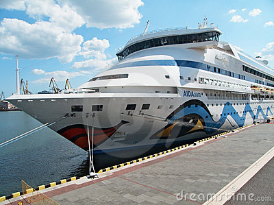 Passenger ship M/S AIDA AURA Editorial Photography