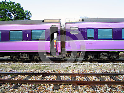 Passenger train Editorial Image