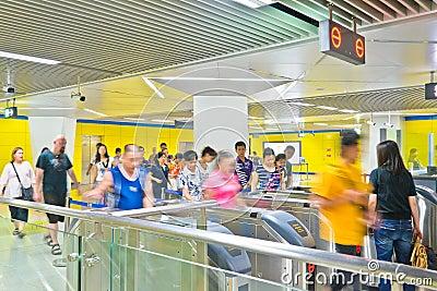 Passengers Editorial Photo