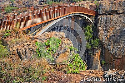Passerelle de la chance de Bourke, Afrique du Sud