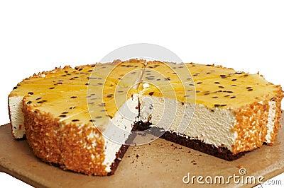 Passiflora cake.