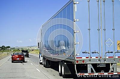 Passing a big truck