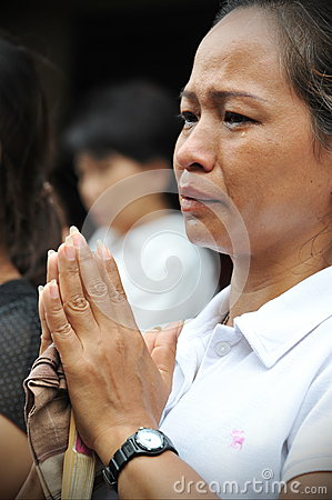 Passing of the Thai Sumpreme Patriarch Editorial Image