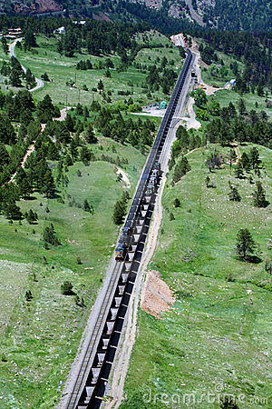 Free Passing Trains Stock Photography - 6979632