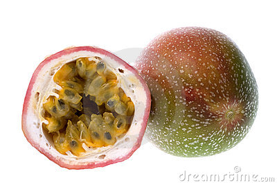 Passion Fruits Isolated