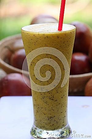 Passion fruits juice