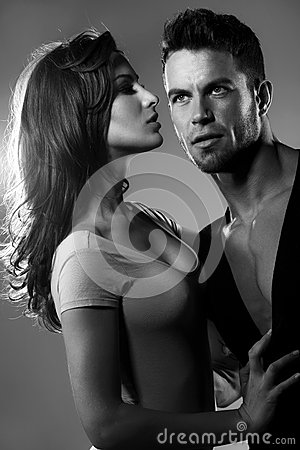Free Passion Woman And Man Stock Images - 38526904