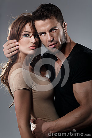 Free Passion Woman And Man Royalty Free Stock Images - 41871799