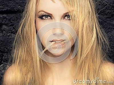 Passionate blonde