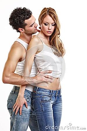 Free Passionate Couple Stock Photo - 16857690