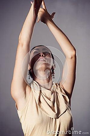 Free Passionate Flamenco Dancer Stock Photography - 4900012