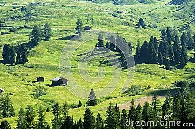 Passo Gardena, Dolomites