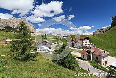 Passo Gardena - Gardena pass
