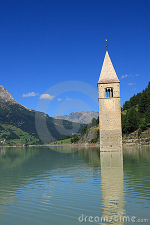 Passo Resia - Curon Bell Tower