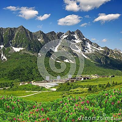Free Passo Tonale-Italy Stock Image - 25753641