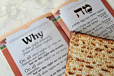 Passover Matzo Sheet and Haggadah