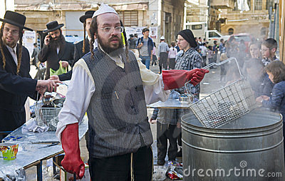 Passover preparation Editorial Stock Photo