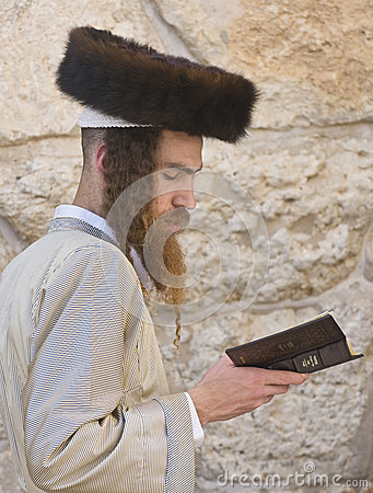 Passover in the Western wall Editorial Photo