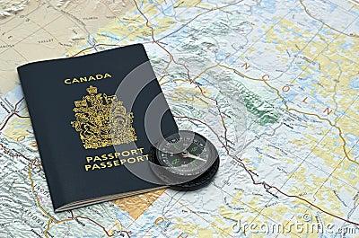 Passport Editorial Stock Photo