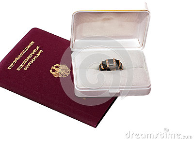 Passport and Golden Ring