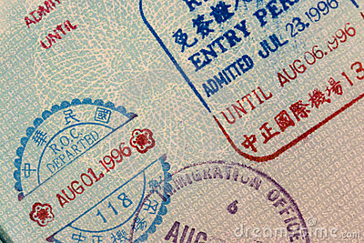 Passport Stamps - China
