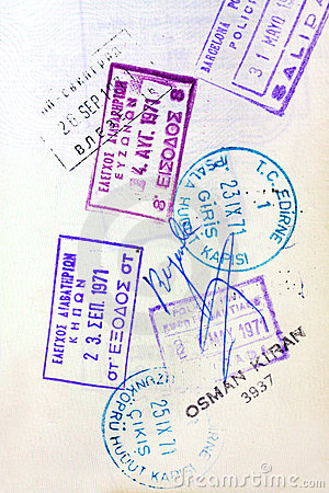 Passport Visa Stamps
