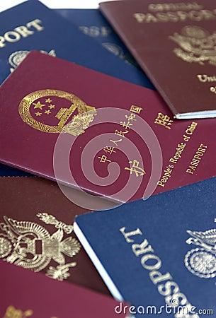 Free Passports Stock Photography - 1336542