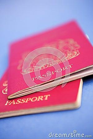 Passports please...