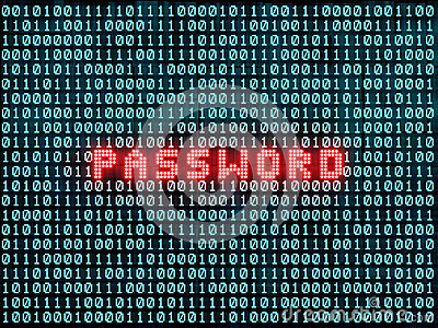Password and binary code