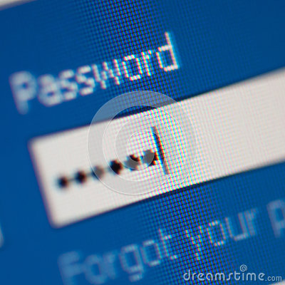 Free Password Close Up Royalty Free Stock Photography - 98595217