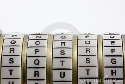 Password, keyword or combination - truth. Cryptex