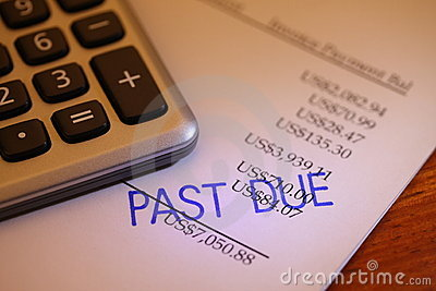 Past due payment