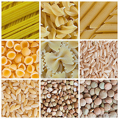 Free Pasta And Legumes Stock Image - 19548111