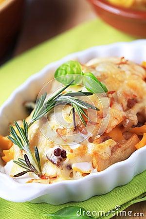 Free Pasta Au Gratin Stock Photo - 14399370