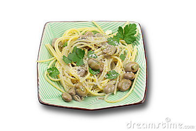 Pasta With Beans Royalty Free Stock Images - Image: 18984079