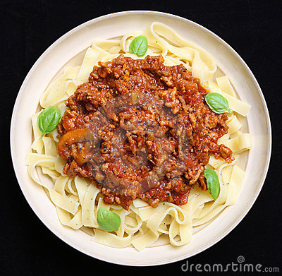 Pasta with Bolognese Sauce