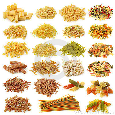 Free Pasta Collection Stock Images - 12441194