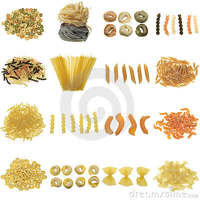 Free Pasta Collection Royalty Free Stock Image - 4551536