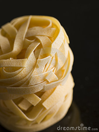 Free Pasta, Fettuccine, Nests Stock Photo - 7230170