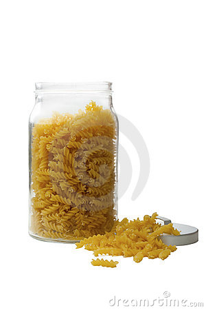 Free Pasta In Glass Jar Royalty Free Stock Photo - 10332585