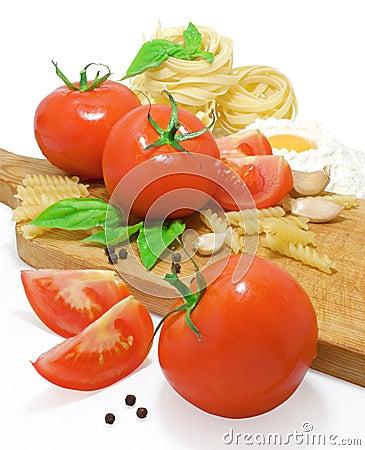 Free Pasta Ingredients Royalty Free Stock Images - 15800859