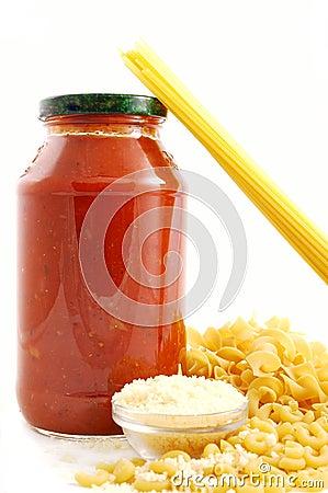 Free Pasta Ingredients Royalty Free Stock Images - 1821349