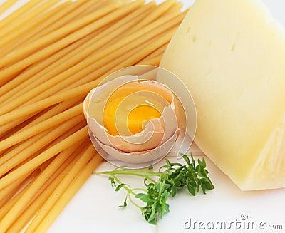 Pasta ingredients RF