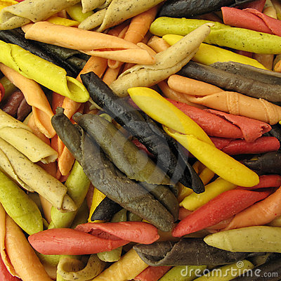 Free Pasta Italian Gargollini With Vegetables And Spice Royalty Free Stock Photo - 10404385