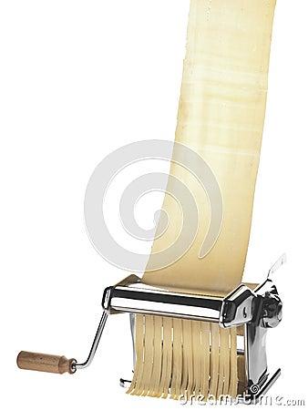 Free Pasta Machine With Dough Sheet Royalty Free Stock Photo - 21848215