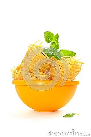 Free Pasta Nests Royalty Free Stock Image - 23258646