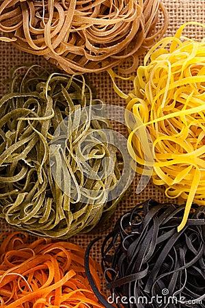 Free Pasta Nests Royalty Free Stock Image - 24519656