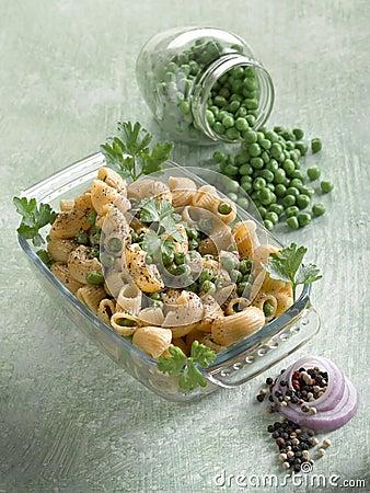 Pasta with peas