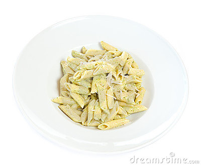 Pasta in plate
